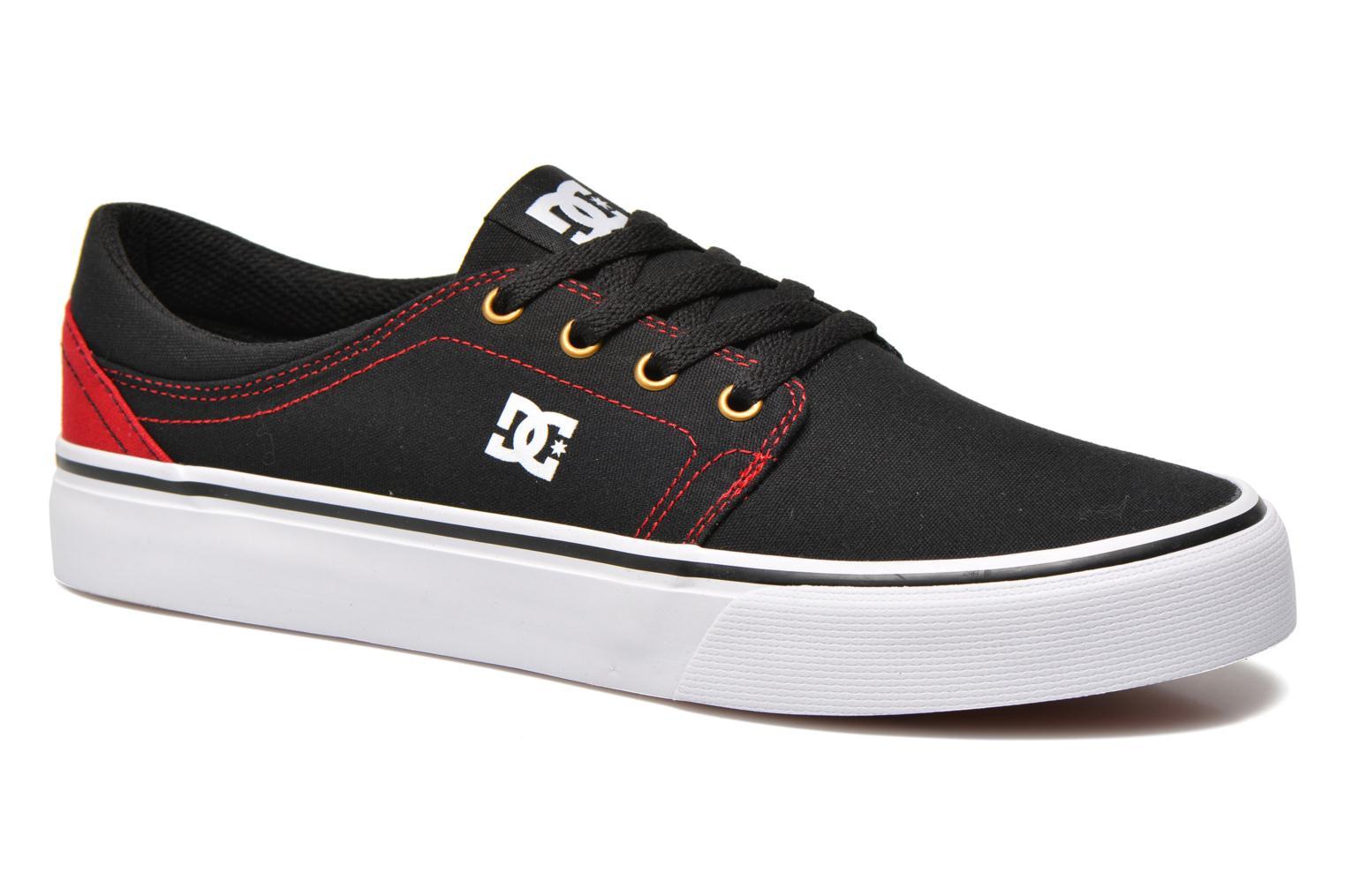 Sneaker DC Shoes Trase Tx schwarz detaillierte ansicht/modell
