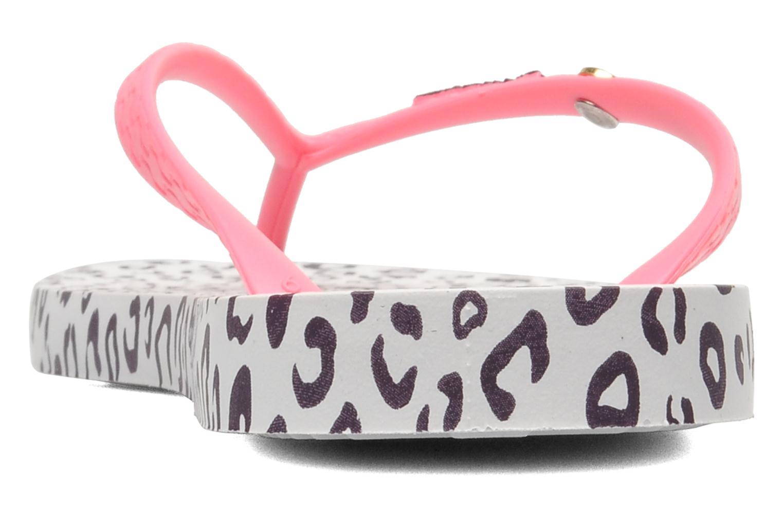 Zehensandalen Ipanema Animal Print rosa ansicht von rechts