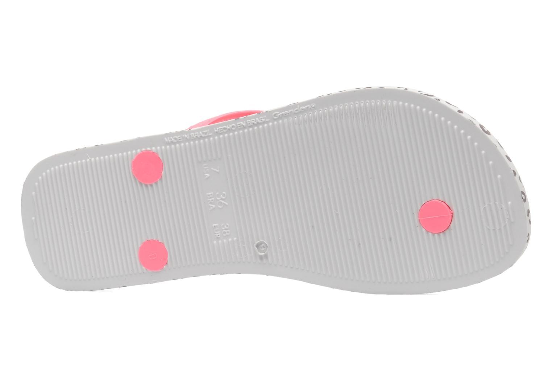 Zehensandalen Ipanema Animal Print rosa ansicht von oben