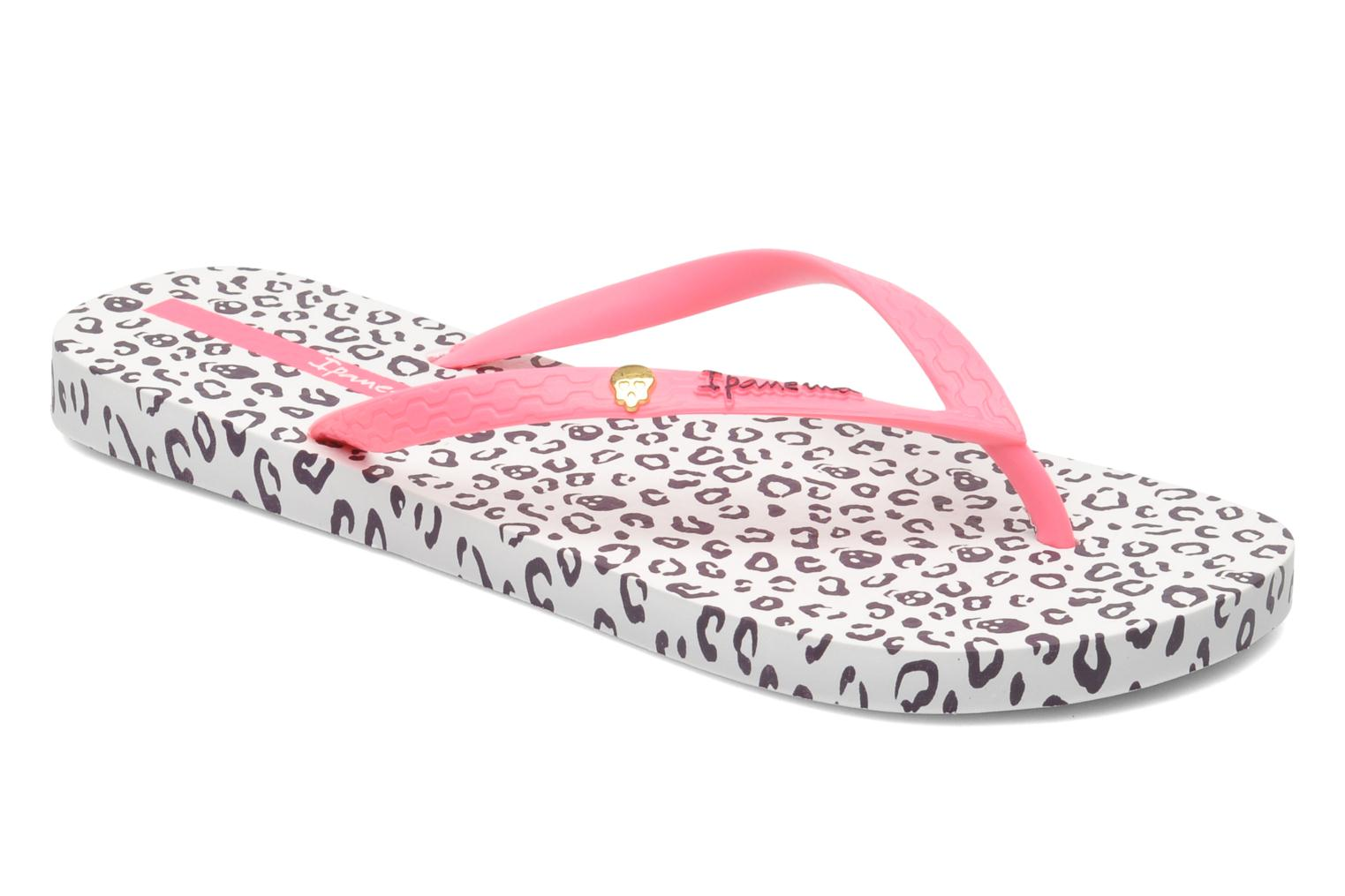 Tongs Ipanema Animal Print Rose vue détail/paire