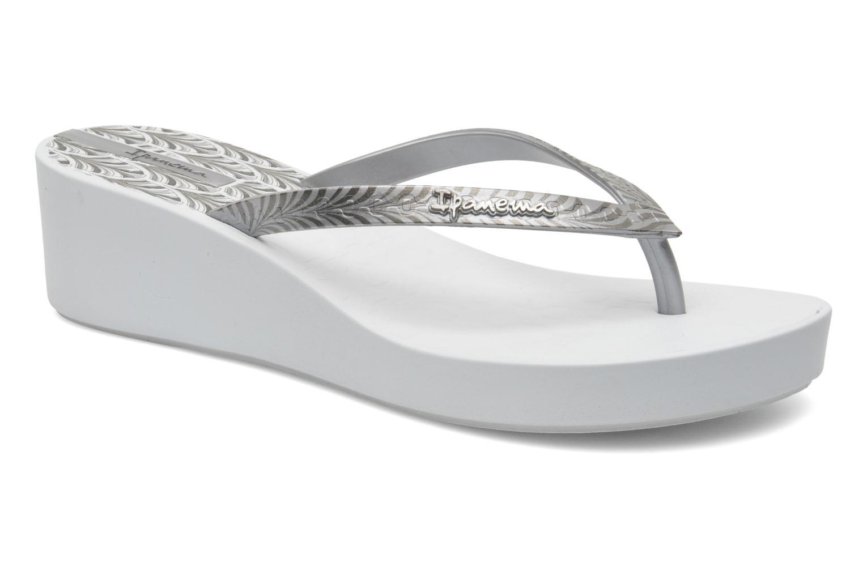 Art Deco White Silver