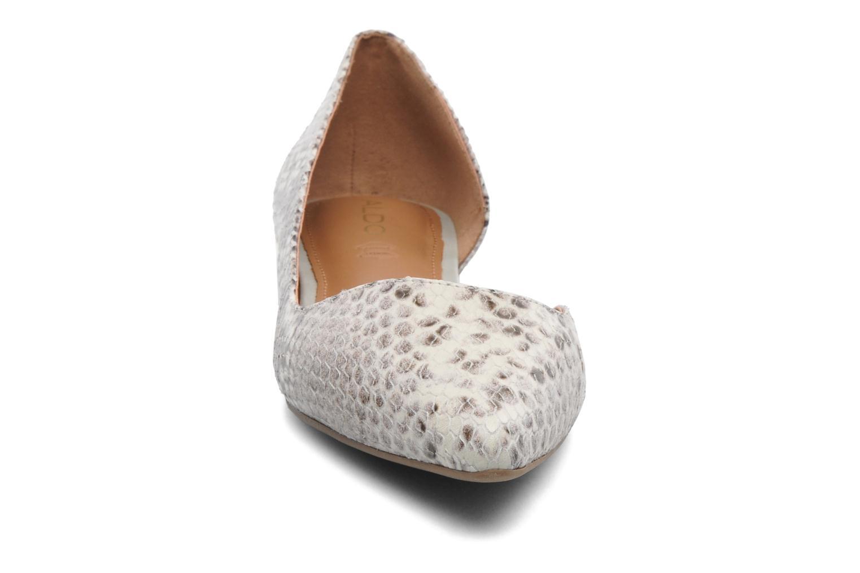 Ballerines Aldo Dealia Beige vue portées chaussures