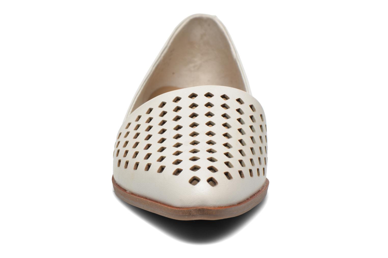 Ballerines Aldo Prerilla Beige vue portées chaussures