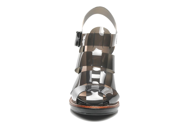 Sandales et nu-pieds Steve Madden HIGHTOP Noir vue portées chaussures