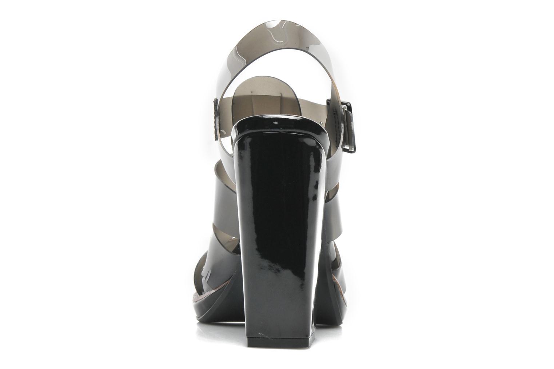 Sandales et nu-pieds Steve Madden HIGHTOP Noir vue droite