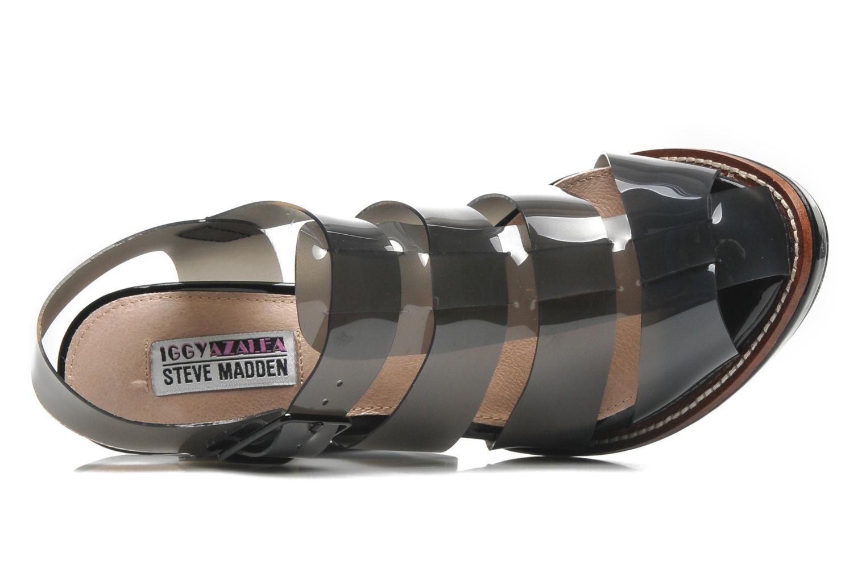 Sandales et nu-pieds Steve Madden HIGHTOP Noir vue gauche