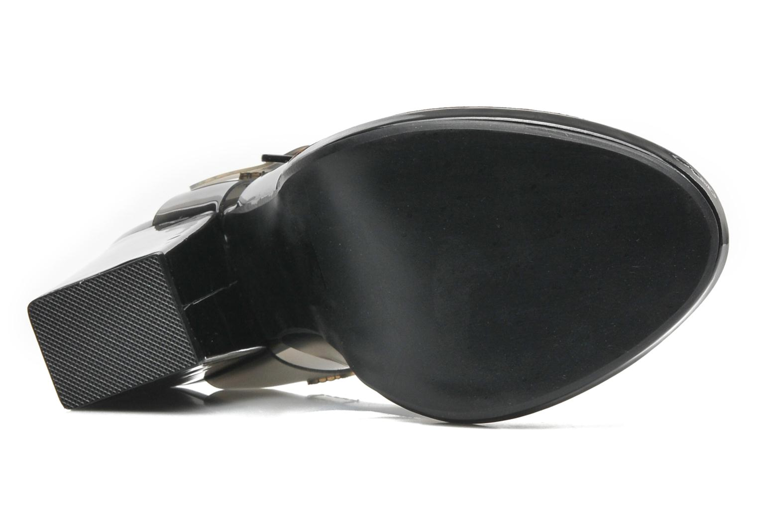 Sandals Steve Madden HIGHTOP Black view from above