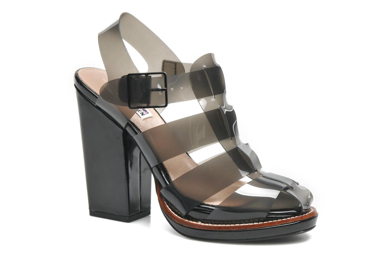 Sandales et nu-pieds Steve Madden HIGHTOP Noir vue détail/paire