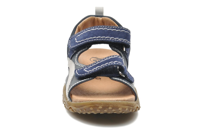 Sandales et nu-pieds Naturino Mauro 9101 Bleu vue portées chaussures