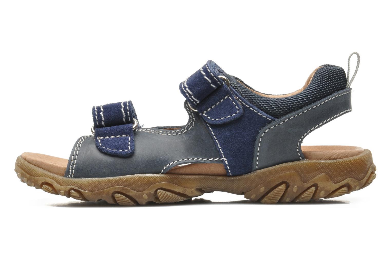 Sandales et nu-pieds Naturino Mauro 9101 Bleu vue face