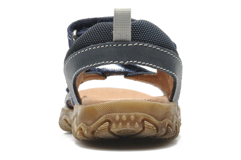 Sandales et nu-pieds Naturino Mauro 9101 Bleu vue droite