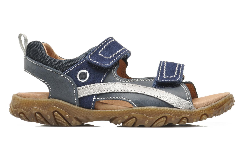 Sandales et nu-pieds Naturino Mauro 9101 Bleu vue derrière