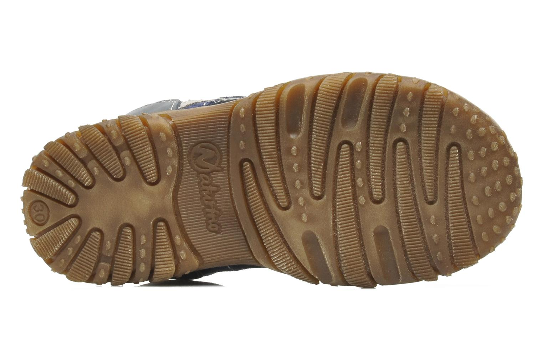 Sandales et nu-pieds Naturino Mauro 9101 Bleu vue haut