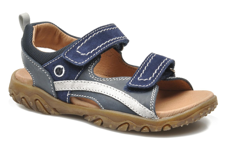 Sandales et nu-pieds Naturino Mauro 9101 Bleu vue détail/paire