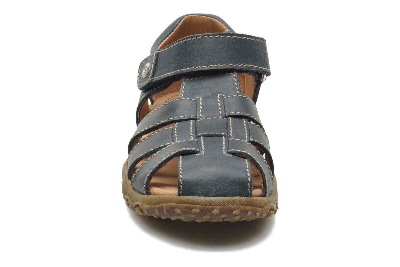 Sandales et nu-pieds Naturino Luca Bleu vue portées chaussures