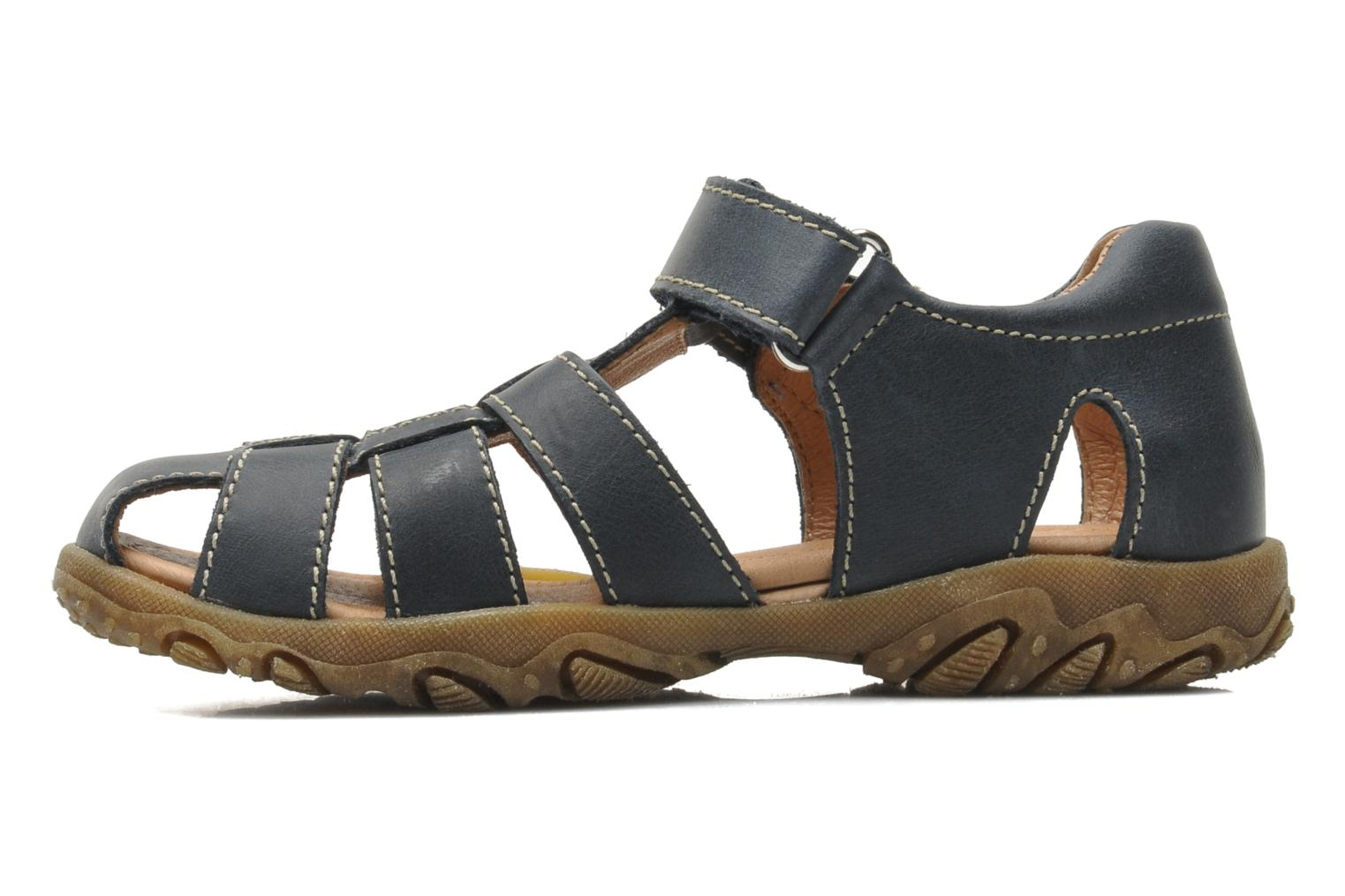 Sandals Naturino Luca Blue front view