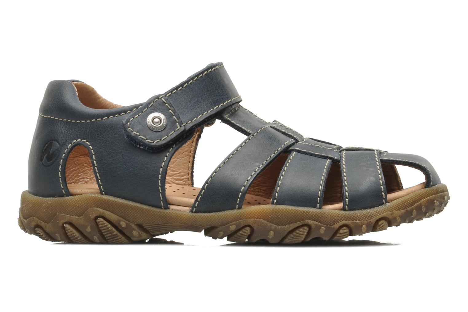 Sandals Naturino Luca Blue back view
