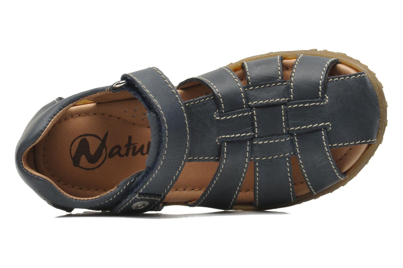 Sandales et nu-pieds Naturino Luca Bleu vue gauche
