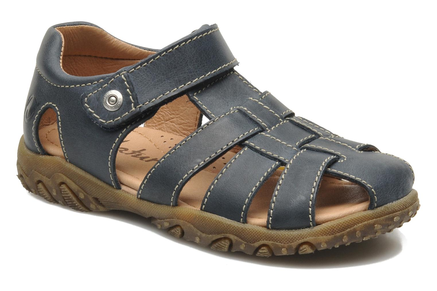 Sandals Naturino Luca Blue detailed view/ Pair view