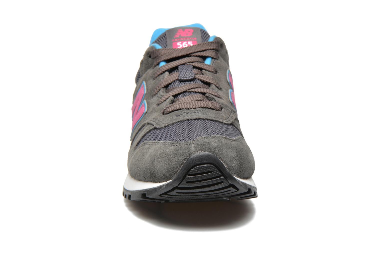 Sneaker New Balance WL565 grau schuhe getragen