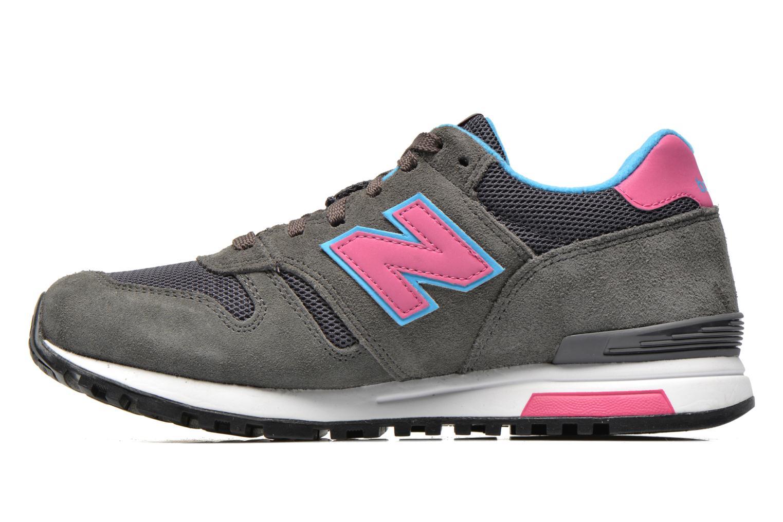 Sneakers New Balance WL565 Grijs voorkant
