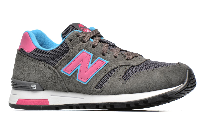 Sneaker New Balance WL565 grau ansicht von hinten