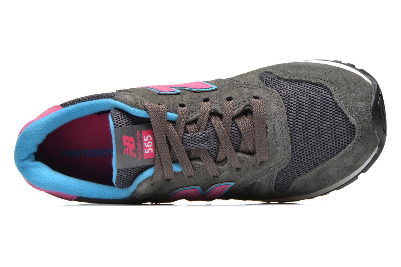 Sneaker New Balance WL565 grau ansicht von links