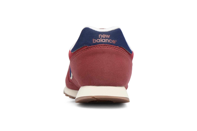 Baskets New Balance ML373 Rouge vue droite