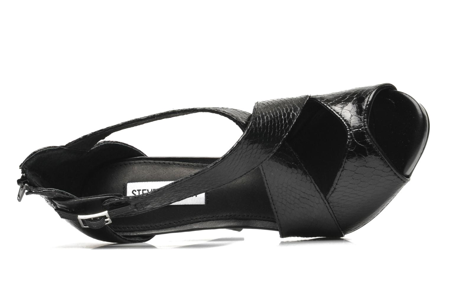 Sandals Steve Madden BANOCKA Black view from the left