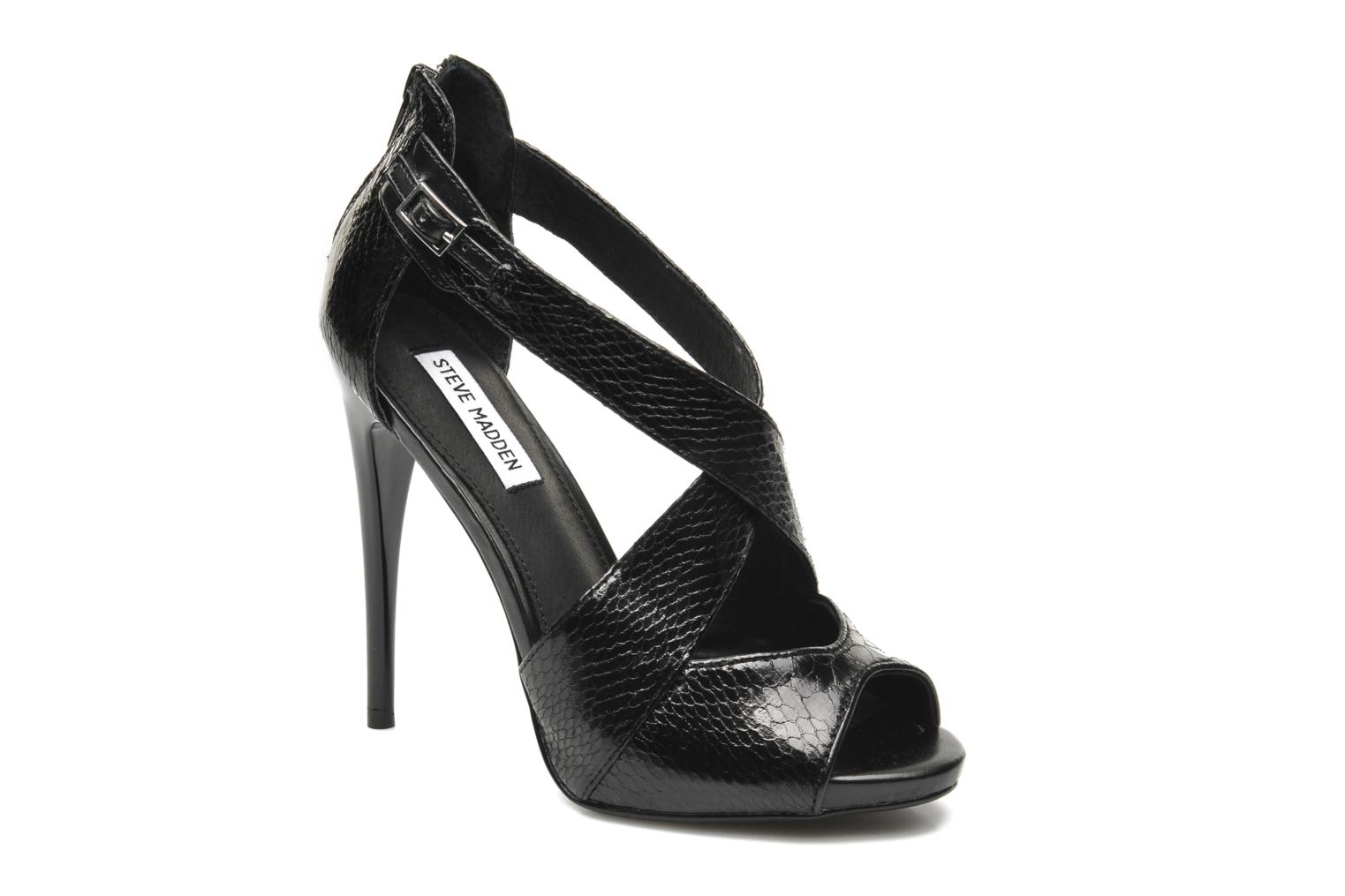 Sandals Steve Madden BANOCKA Black detailed view/ Pair view