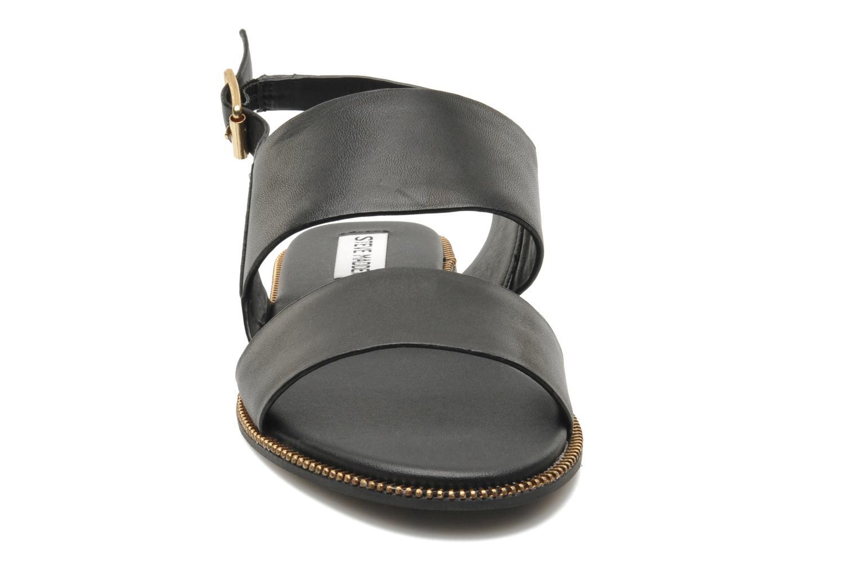 Sandalen Steve Madden SANDDY schwarz schuhe getragen