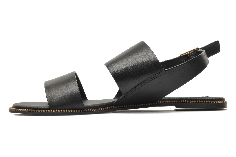Sandales et nu-pieds Steve Madden SANDDY Noir vue face