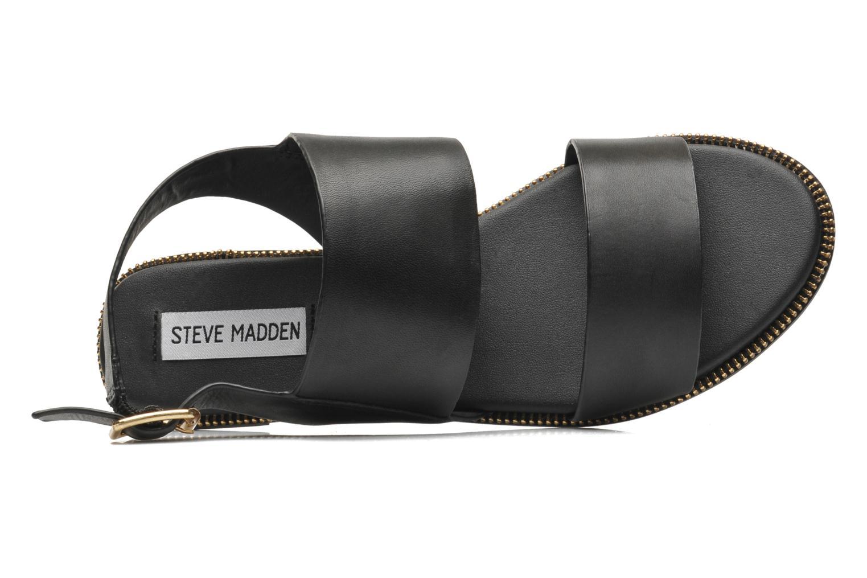 Sandales et nu-pieds Steve Madden SANDDY Noir vue gauche