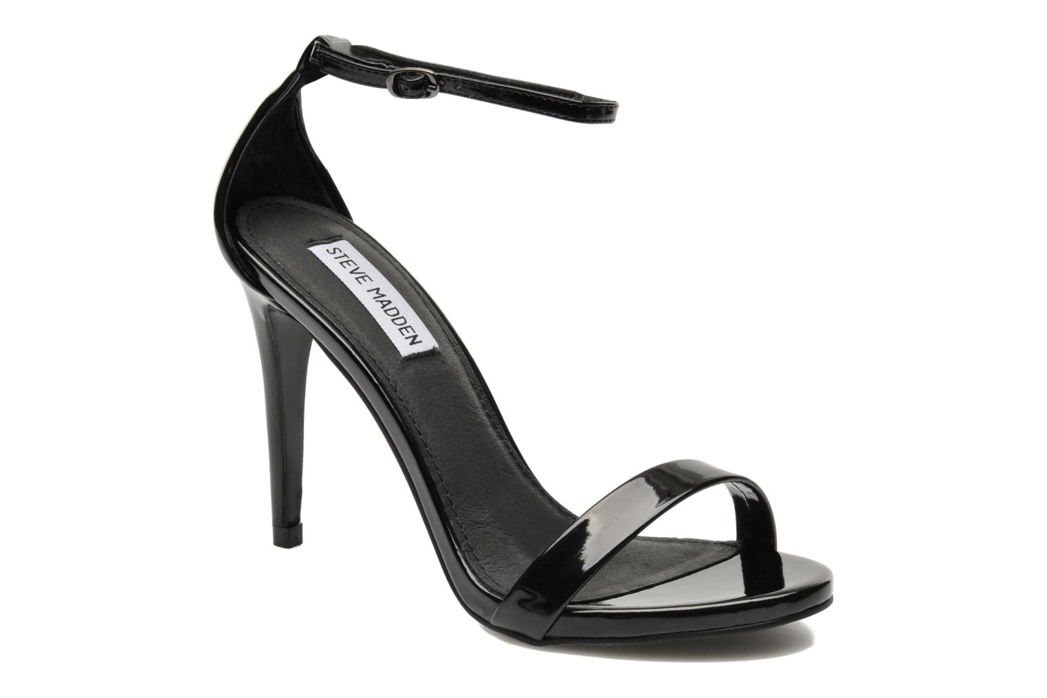 Sandals Steve Madden Stecy Sandal Black detailed view/ Pair view