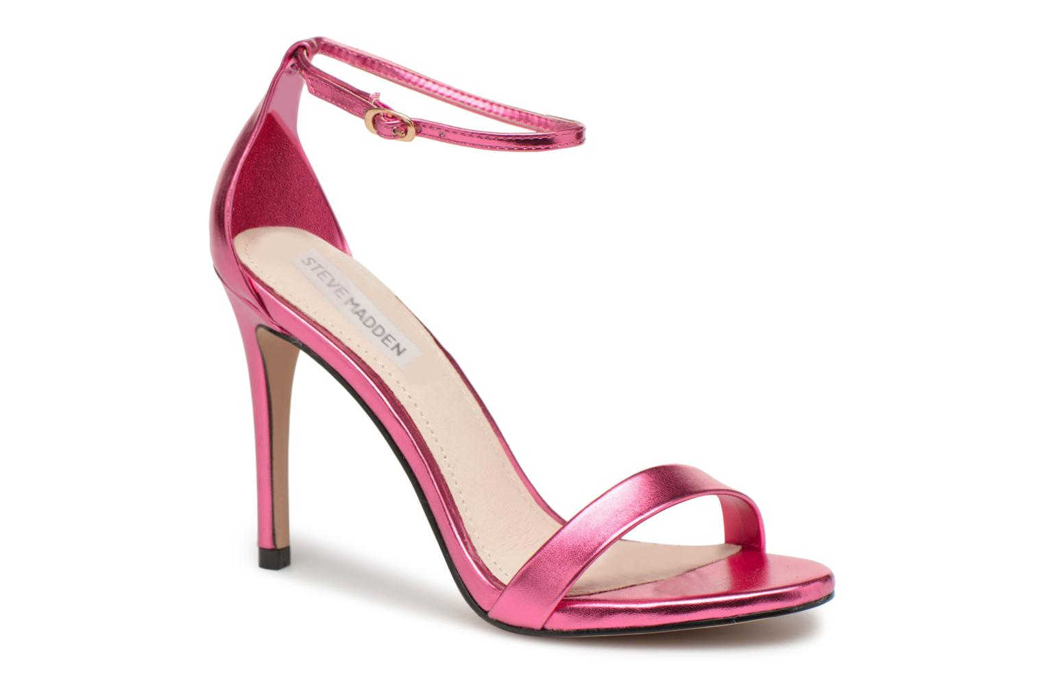 Sandals Steve Madden Stecy Sandal Pink detailed view/ Pair view