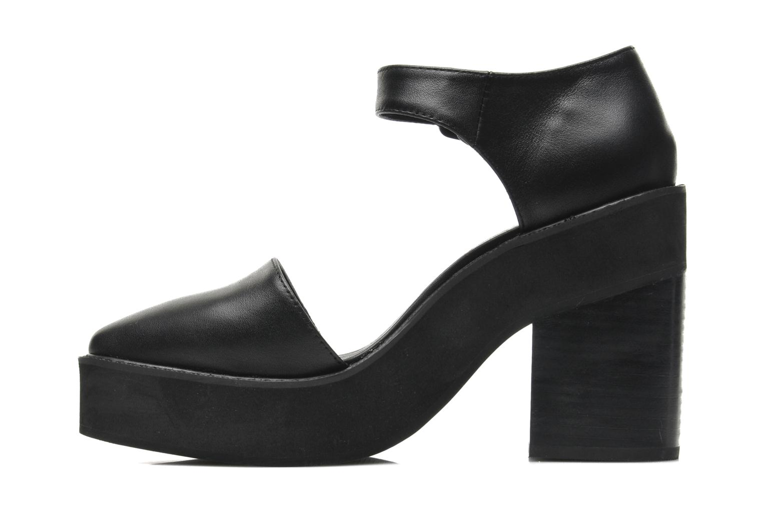 High heels Intentionally blank Mercury Black front view