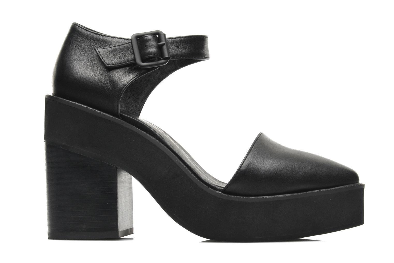 High heels Intentionally blank Mercury Black back view