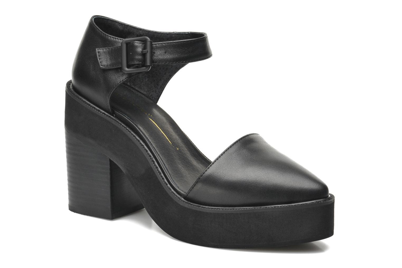 Mercury Black leather