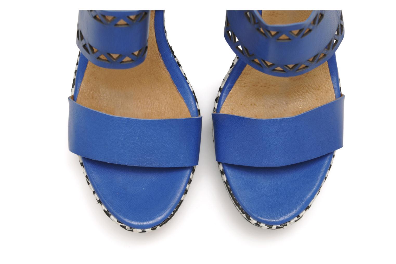 Sandalen Made by SARENZA Bamako #6 blau schuhe getragen