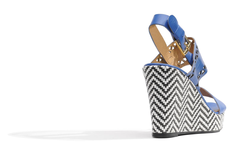 Sandalen Made by SARENZA Bamako #6 blau ansicht von vorne