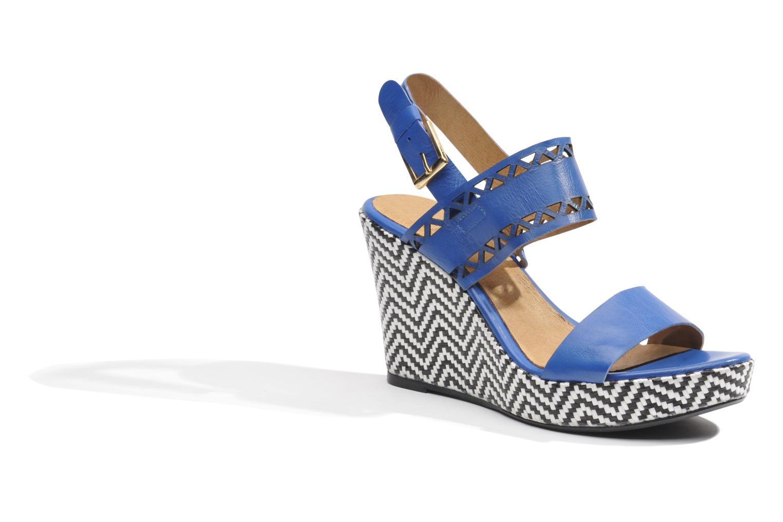 Sandalen Made by SARENZA Bamako #6 blau ansicht von rechts