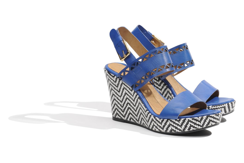 Sandalen Made by SARENZA Bamako #6 blau ansicht von hinten