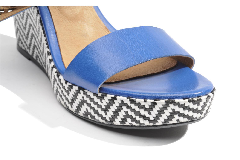 Sandalen Made by SARENZA Bamako #6 blau ansicht von oben