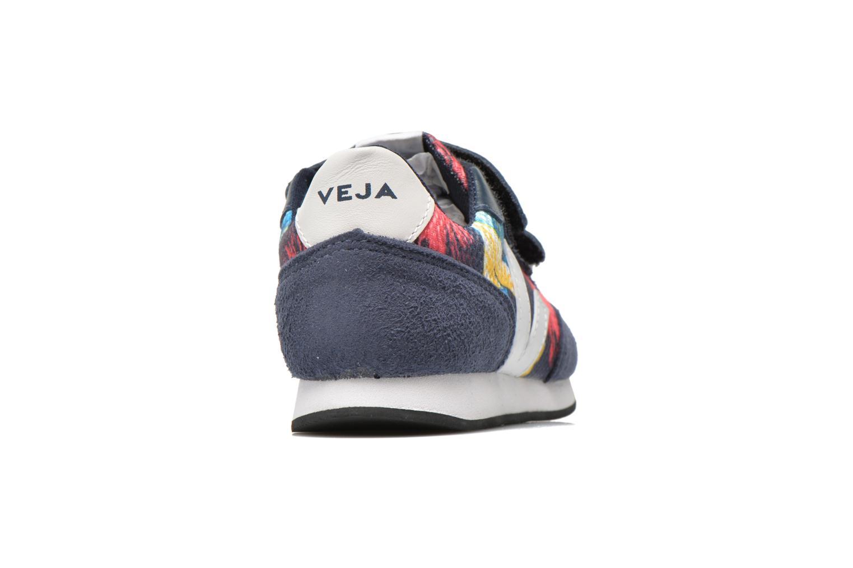 Baskets Veja ARCADE SMALL B MESH VELCRO Multicolore vue droite