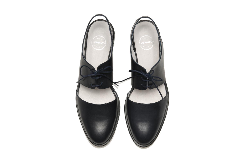 Chaussures à lacets Made by SARENZA Parasols de Paris #1 Bleu vue portées chaussures