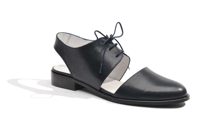 Chaussures à lacets Made by SARENZA Parasols de Paris #1 Bleu vue droite