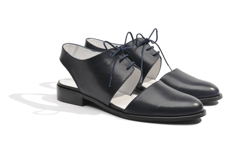 Chaussures à lacets Made by SARENZA Parasols de Paris #1 Bleu vue derrière