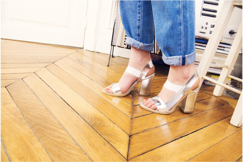 Sandales et nu-pieds Made by SARENZA Pool Party #4 Bleu vue 3/4