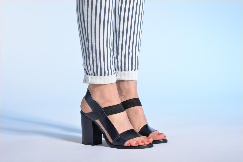 Sandales et nu-pieds Made by SARENZA Pool Party #4 Bleu vue bas / vue portée sac