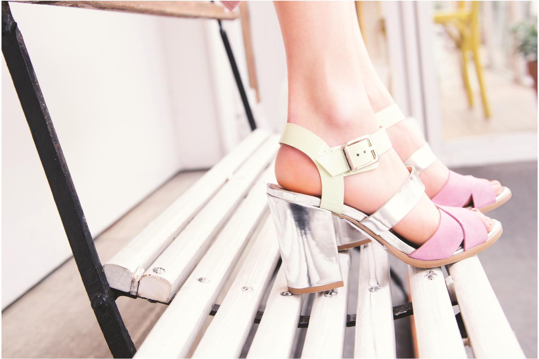 Sandales et nu-pieds Made by SARENZA Guimauve #7 Marron vue 3/4